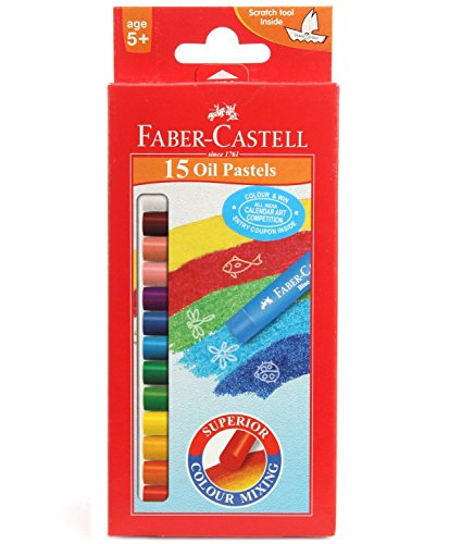 Faber-castell OIL Pastels Set of 15