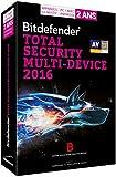 Bitdefender Total Security Multi-Device 2016 (5 utilisateurs, 2 ans) - Appareils illimit�s