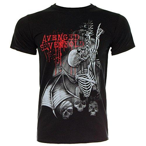 T Shirt Avenged Sevenfold Spine Climber (Nero) - Large