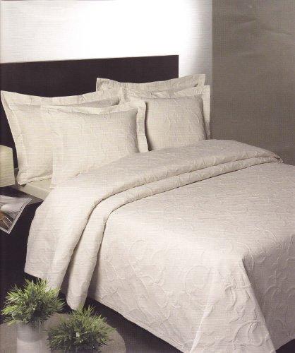 Florentina Cotton Rich Double Bedspread in Cream