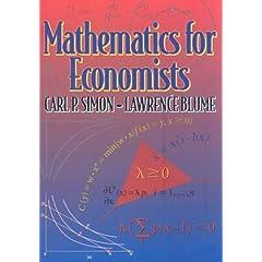 Mathematics for Economists (9780393957334)