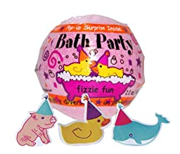 Fizzmos Bath Party Bath Fizzy - Pink