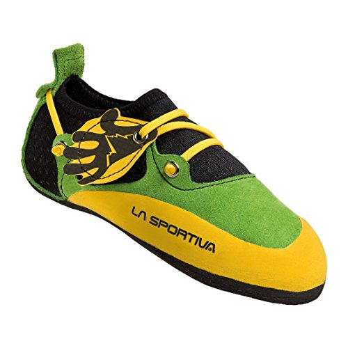 La-Sportiva-Stickit-climbing-shoe-Children-yellowgreen-Size-30-31-2016-climbing-shoe