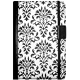 Verso Versailles Case Cover for Kindle Fire, Black/White (will only fit Kindle Fire)