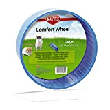 Kaytee Large Comfort Exercise Wheel, 8.5-Inch,  Colors Vary