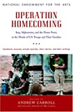 img - for Operation Homecoming: Iraq, Afghanistan, and the Home Front, in the Words of U.S. Troops and Their Families book / textbook / text book