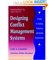 Designing Conflict Management Systems