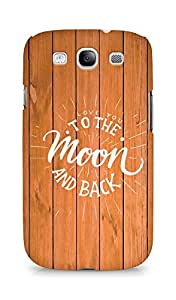AMEZ love you to the moon and back Back Cover For Samsung Galaxy S3 Neo