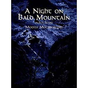 Amazon.com: A Night on Bald Mountain in Full Score (9780486408576 ...