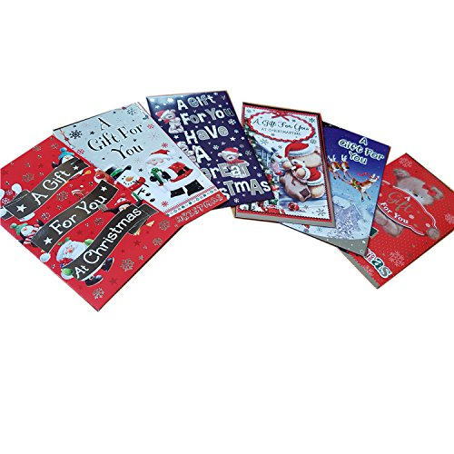 christmas-self-seal-money-paper-wallet-package-of-6-different-designs-paper-wallets-portefeuille-bri