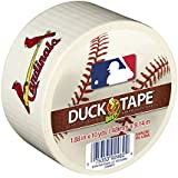 Duck Brand 240737 St. Louis Cardinals MLB Team Logo Duct Tape, 1.88-Inch by 10-Yard, 1-Pack