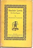Sinclair Lewis, our own Diogenes (University of Washington chapbooks)