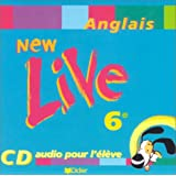 New Live : 6e, anglais LV1, pour l'�l�ve (CD audio)par Anne Grzesiak-Lycett