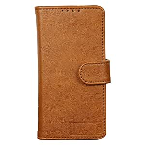 Dsas Artificial Leather Wallet Flip Cover designed for HTC Desire 816 G