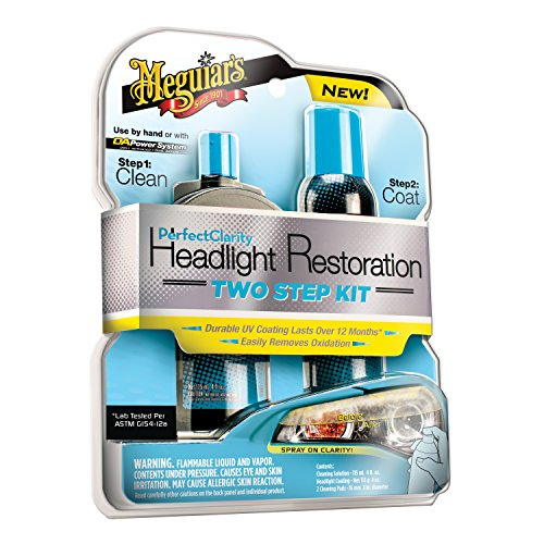 Meguiar's G2000 Perfect Clarity Two Step Headlight Restoration Kit (Headlight Defogger compare prices)