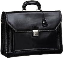 Floto Luggage Venezia Briefcase, Black, One Size
