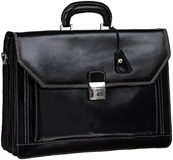 Floto Luggage Venezia Briefcase, Black, One Size