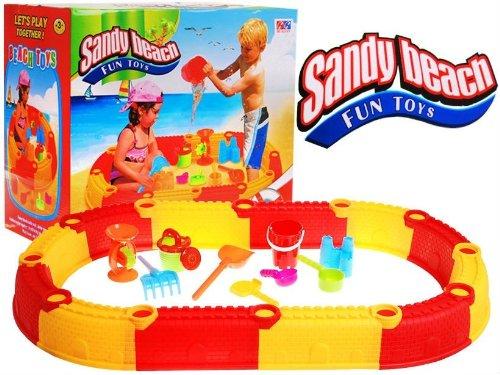 bac a sable plastique gifi bac de sable petit prix. Black Bedroom Furniture Sets. Home Design Ideas