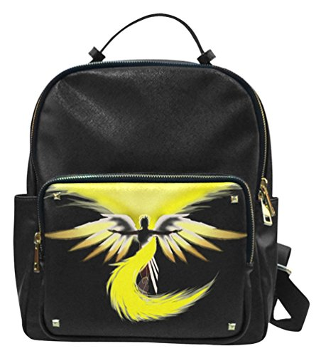 Overwatch Mercy Leather Backpack