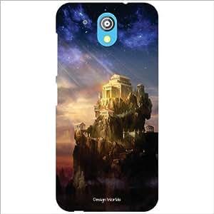 Design Worlds - HTC Desire 526G Plus Designer Back Cover Case - Multicolor ...