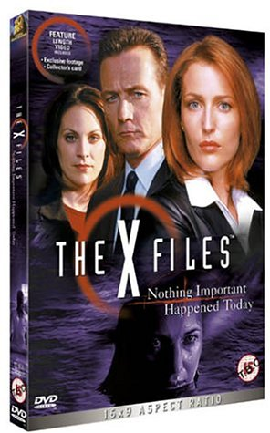 X Files Nothing Important [UK Import]