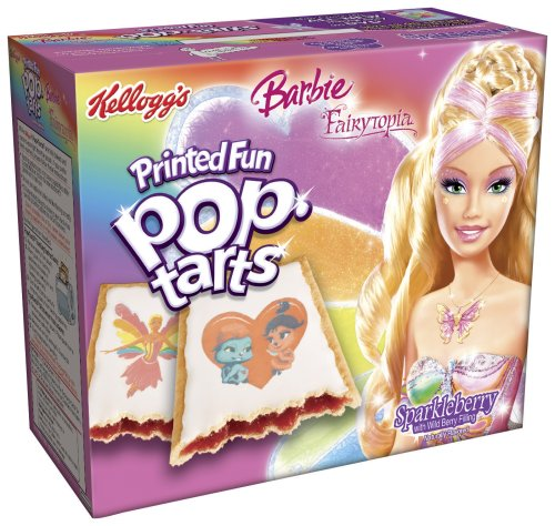 Buy Kellogg's Pop-Tarts Frosted Barbie, 22-Ounce, 8-Count Boxes (Pack of 12) (Pop-Tarts, Health & Personal Care, Products, Food & Snacks, Breakfast Foods, Toaster Pastries)