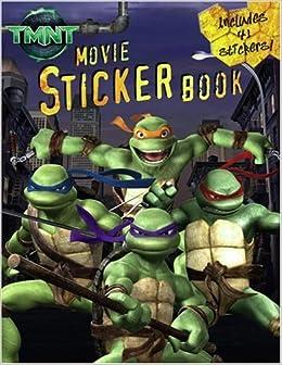 TMNT Movie Sticker Book (Teenage Mutant Ninja Turtles) Paperback