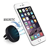 Car Mount, Magnetic Air Vent Universal Mobile Cell Phone Holder for Any Smartphone including iPhone 6 Plus, Samsung Galaxy S6/S5 Edge, Note, Nexus, LG, HTC, Android, and Garmin GPS (Air Vent Mount)