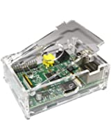 Hostey- Coque de protection transparent pour Raspberry Pi, case for Raspberry Pi (Acrylic)