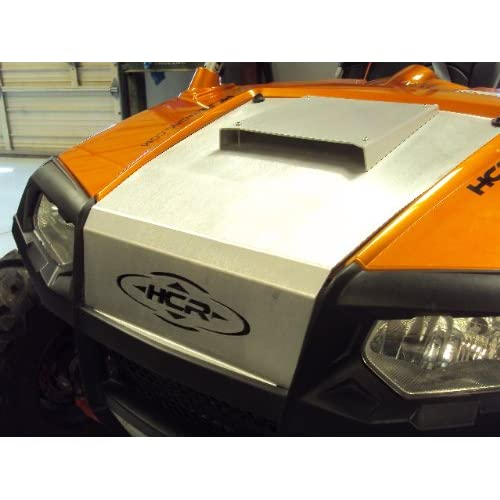 HCR RZR Aluminum Stock Replacement Hood with Scoop