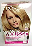 Loreal Sublime Mousse Hair Colour Golden Medium Blonde 83