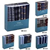 YEC01 Excellent Design 7 Pure Cotton Handkerchiefs Set Wedding Goods By Y&G