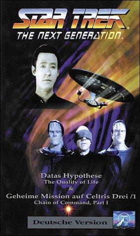 Star Trek - The Next Generation 68: Datas Hypothese/Geheime Mission auf Celtris Teil 1 [VHS]