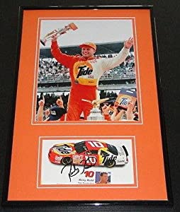 Autographed Ricky Rudd Photograph - Framed 11x17 Display Tide - Autographed NASCAR... by Sports Memorabilia