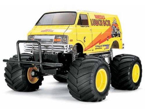Tamiya01:12 Electric monster truck model car Lunch Box2WDKit