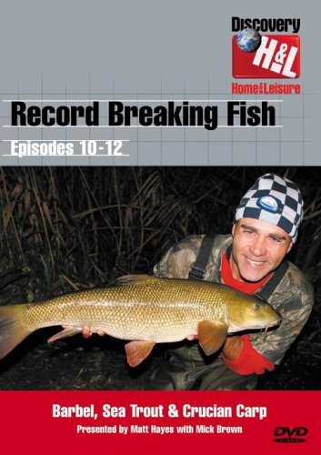 Matt Hayes - Record Breaking Fish - Episodes 10 To 12 [DVD]