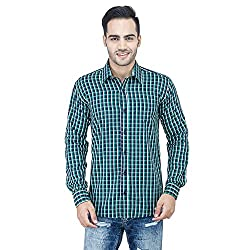 Leaf Mens Checkered Shirt
