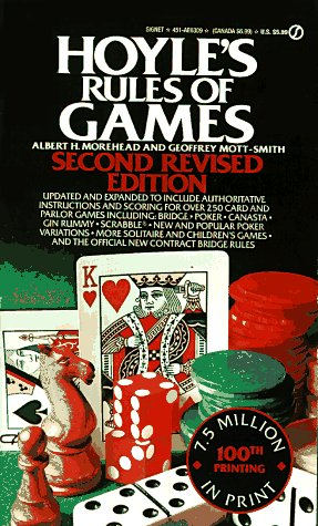 Hoyle's Rules of Games: Second Revised Edition, Morehead, Albert H.; Mott-Smith, Geoffrey