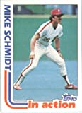 1982 Topps Baseball Card #101 Mike Schmidt Near Mint