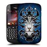 Head Case Designs White Tiger Tribal Animals Protective Snap-on Hard Back Case Cover for BlackBerry Bold Touch 9900
