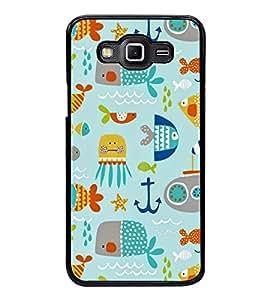 Printvisa Ultra Cute Pattern 2D Hard Polycarbonate Designer Back Case Cover for Samsung Galax...