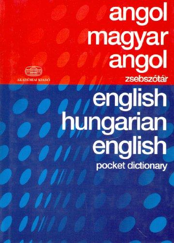 Hungarian English and English Hungarian Pocket Dictionary English and Hungarian Edition