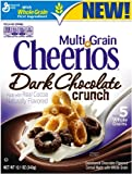 General Mills, Cheerios, Multi Grain, Dark Chocolate Crunch Cereal, 12.1oz Box (Pack of 4)
