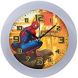 -Horloge Pendule Murale Enfant Disney Spiderman Marvel