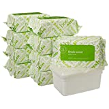 Amazon Elements Baby Wipes, Fresh Scent, Resealable Packs with Tub, 720 Count