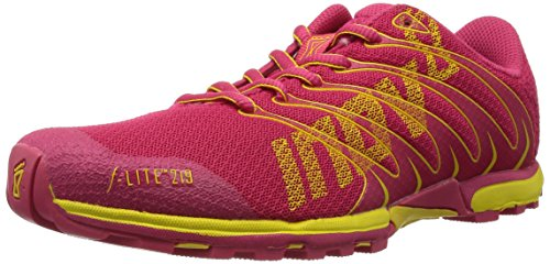 Inov-8 Women's F-Lite 219 Cross-Training Shoe,Pink/Yellow,8 D US