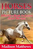Children's Book About Horses: A Kids Picture Book About Horses with Photos and Fun Facts