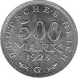 500 Mark Alemania, 1923 G (Jäger: 305) FDC