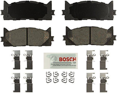 Bosch BE1222H Blue Disc Brake Pad Set with Hardware (2007 Camry Bosch Brake Pads compare prices)