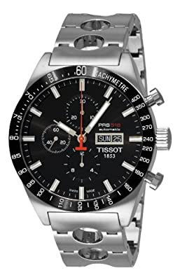 Tissot Men's T0446142105100 T-Sport PRS516 Automatic Black Day Date Dial Watch from Tissot